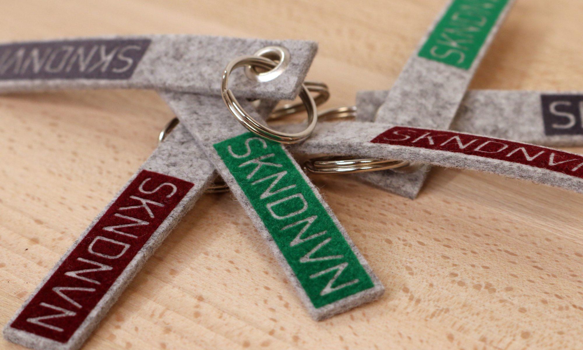 Skandinavien Schlüsselanhänger