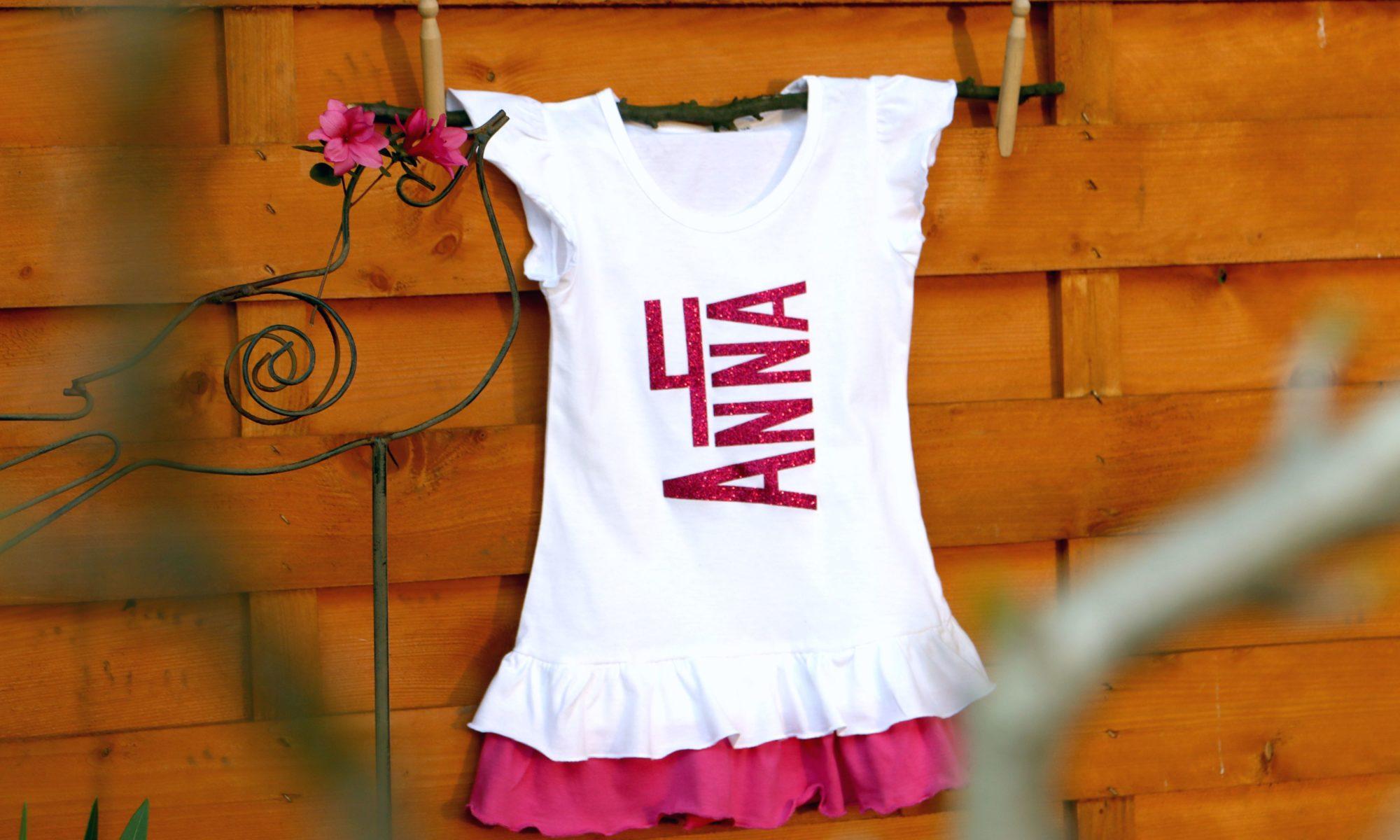 Kleid für Anna. 4 Jahre